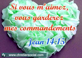 Démontrez votre amour de Dieu