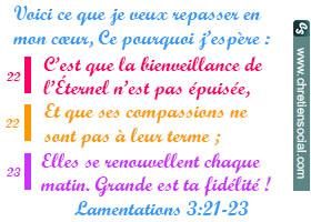 La compassion de Dieu