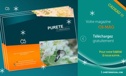 [CADEAU !] Magazine CS-MAG : Pureté 31 Méditations