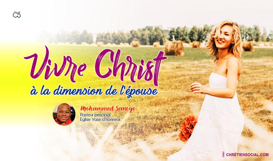 Vivre Christ à la dimension de l'épouse
