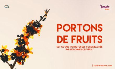 Portons de fruits