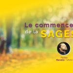 Le commencement de la sagesse – Pasteur Marcello Tunasi