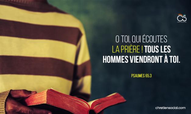 O toi, qui écoutes la prière! Tous les hommes viendront à toi