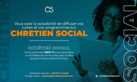 Voulez-vous diffuser votre ministère sur ChretienSocial.com ?