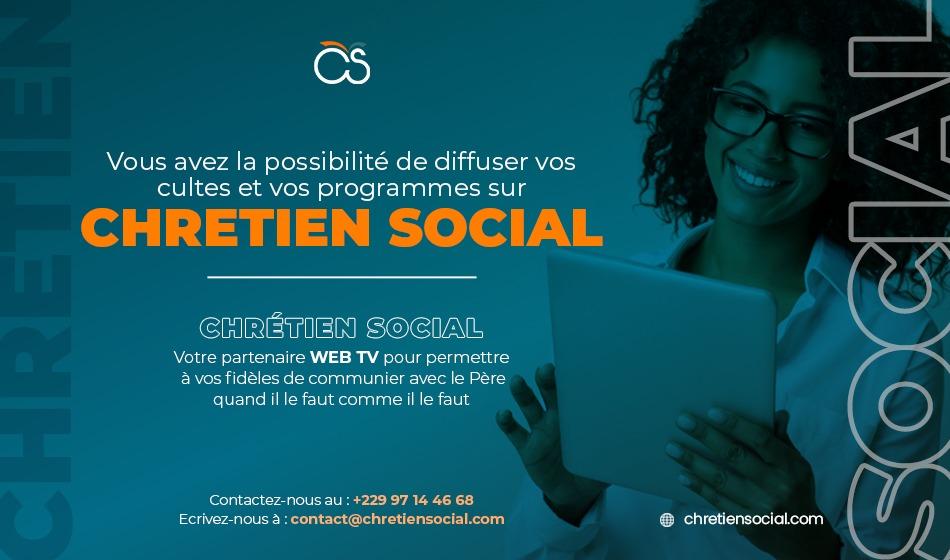Diffusion sur Chretien Social - Partenariat