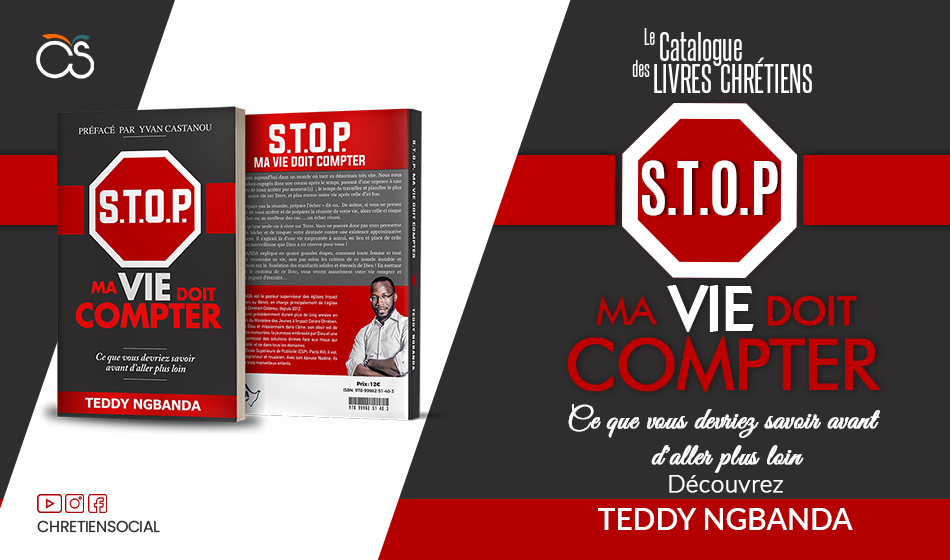 STOP ma vie doit compter - Pasteur Teddy NGBANDA