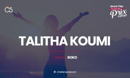 Talitha koumi – Marc 5.41