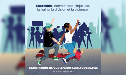 Ensemble combattons l'injustice, la haine, la division, la violence – Georges Floyd