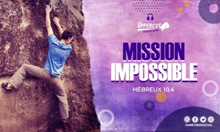 Mission impossible – Hébreux 10.4