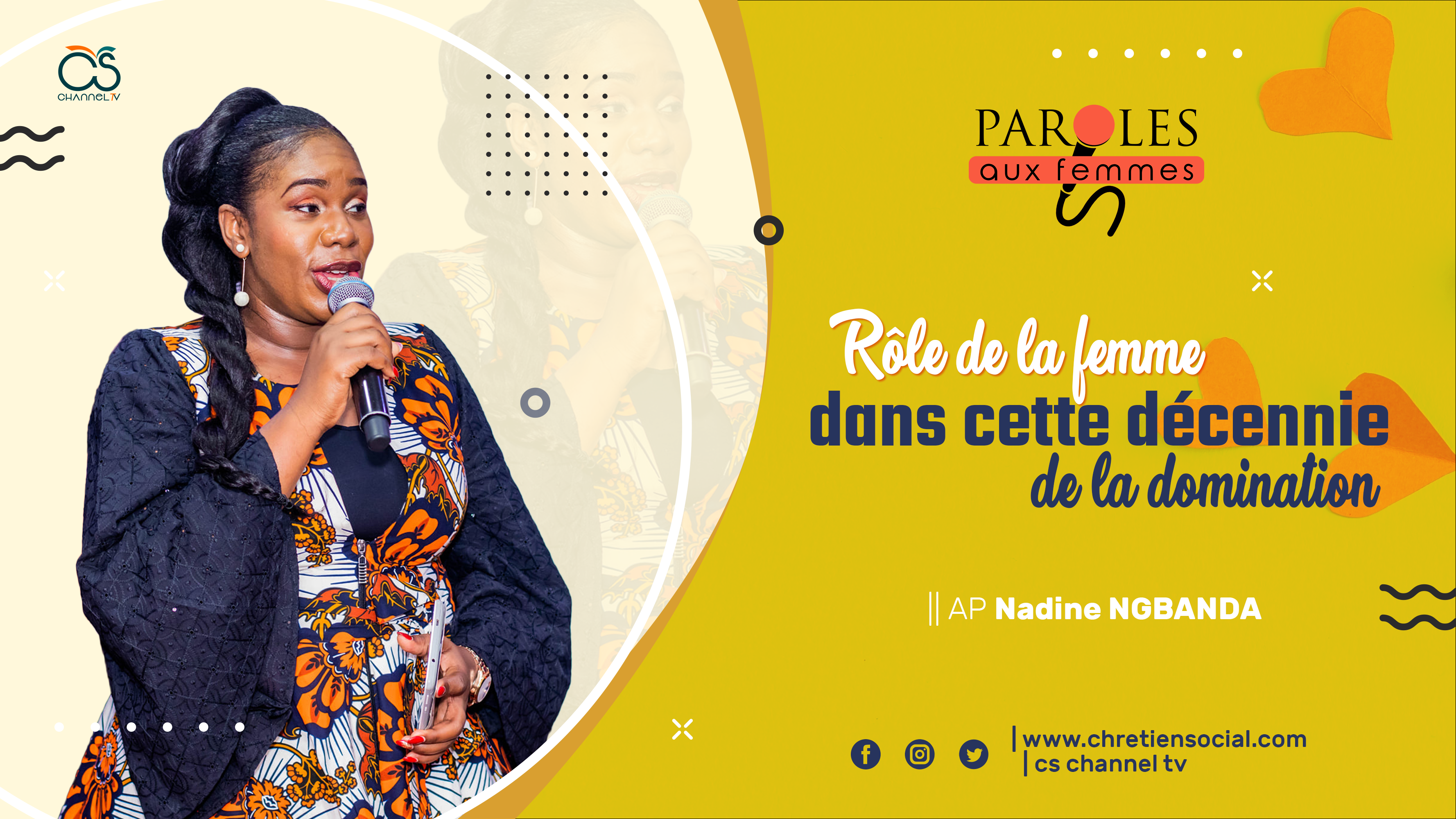 Parole aux femmes - Maman Nadine NGBANDA